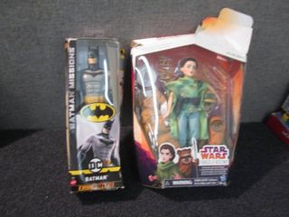 StarWars Princess Leia, Batman W2...