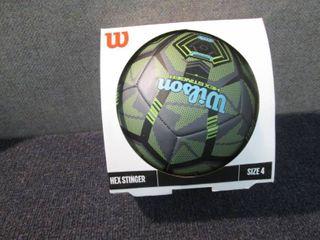 Wilson Hexstinger Size 4 Soccer Bal...