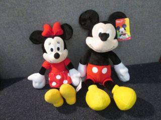 Mickey & Minnie Mouse W3...