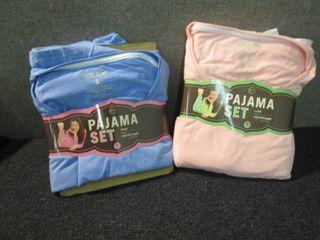 1 Small, 1 Medium Pajama Sets...
