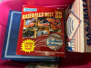 Two Binders   Two Boxes Full of Sports Cards including 1988 Donruss Baseball s Best   Tons of Royals