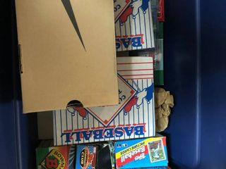 Massive Collection of over 10 000 Sports Cards   Many Unsearched   returned to Packs