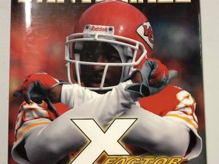 Signed Dante Hall  X Factor  Hardback Book Signed on Inside Page of Book   Kansas City Chiefs