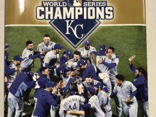 2015 World Series Kansas City Royals Champions Hardback Book - $40 Retail Price