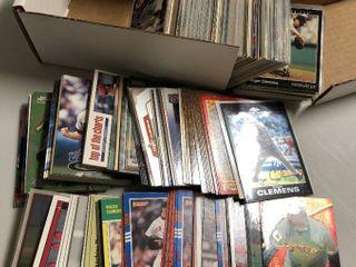 Huge Box of 400  Roger Clemens Baseball Cards
