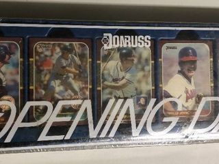 Factory Sealed 1987 Donruss Opening Day Complete Set   Bo Jackson and Barry Bonds Rookie Cards
