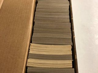 800 Count Box of 1970 s and 1980 s Baseball Cards