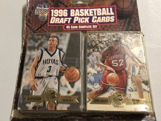 1996 Press Pass NBA Draft Pick Complete Sealed Set with Kobe Bryant  Allen Iverson Rookies   more