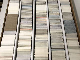 5 000 Count Box of late 90 s and 2000 s Hockey Trading Cards   Packed Full
