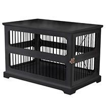 Slide Aside Crate And End Table  Black  Medium
