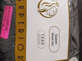 superior Queen sheet set 1500 series