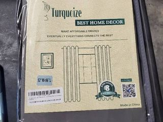 turquoize best home decor black out great curtain