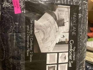 park lane 5 piece king comforter set