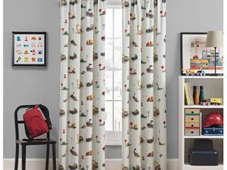 Can You Dig It Blackout Curtain  42 x84    Wavelry Kids