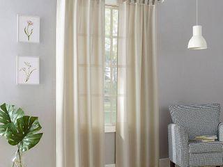 No  918 Farrell Semi Sheer Tab Top Curtain Panel