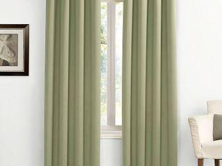 63 x54  Kenneth Energy Saving Blackout Grommet Top Curtain Panel Green   Sun Zero