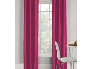 2 Pack Bali 38 in  W x 84 in  l Polyester Window Panel in Fuchsia