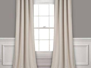 lush Decor 52  x 120  Blackout Curtain Set