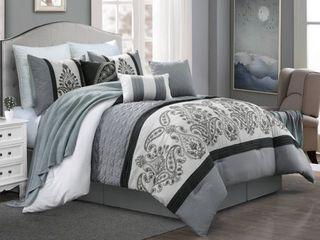 Rita 7 piece comforter set