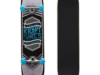 Kryptonics Drop In Series Complete Skateboard  31  x 7 5