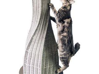 The Refined Feline  Calypso Everlasting Cat Scratcher  Smoke