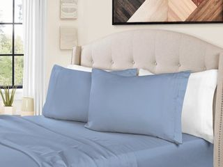 1500 Thread Count Egyptian Cotton Bedding Sheets   Pillowcases  4 Piece Sheet Set by Impressions   Full