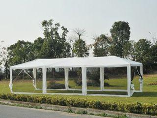 Outsunny 10  x 30  Gazebo Tent