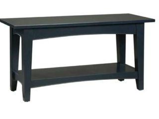 Bolton Furniture Black Bench ASCA03Bl