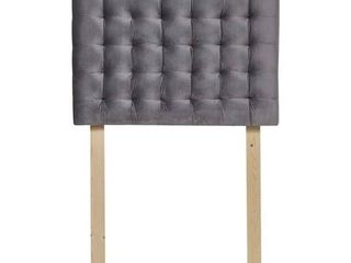 Mo  Tufted College Headboard   Plush Velvet  Retail 135 49