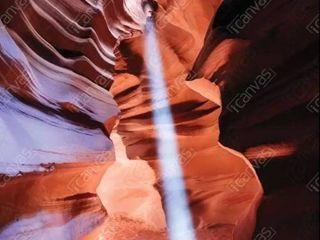 iCanvas light Beam  The Crack  Antelope Canyon  Navajo Nation  Arizona  USA by Matteo Colombo Canvas Print  Retail 133 49