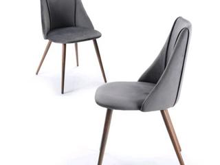 Carson Carrington Falkskog Fabric Side Chair  Set of 2  Retail 169 49