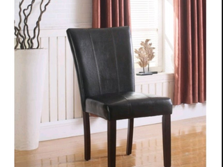 Set of 2 Best Master upholstered side chairs
