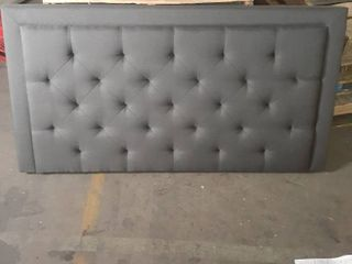 BROOKSIDE Upholstered Headboard with Diamond Tufting  Retail 182 49