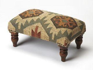 Handmade Berino Jute Ottoman Footstool  India  Retail 129 99