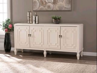 Copper Grove Taborley Transitional White Wood Accent Cabinet  Retail 351 99