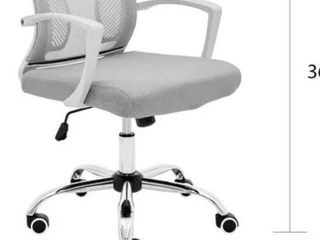 Modern Home Zuna Mid back Office Chair   White