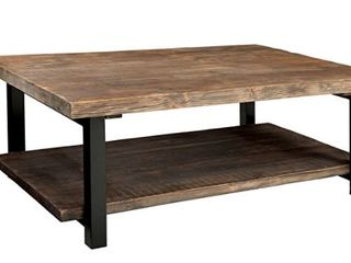 large Coffe Table  48 W x 18 H x 32 D  Rustic Wood