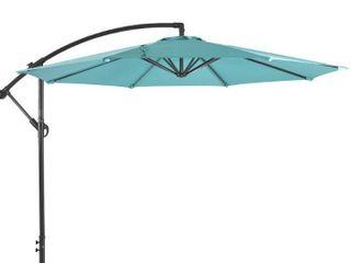 Weller 10ft Offset Canopy Umbrella w Base