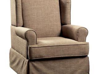 Furniture of America Keal Transitional Glider Rocker Chair Retail 483 99