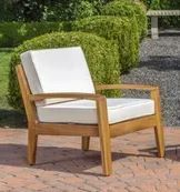 Grenada Outdoor Acacia Wood Chair by Christopher Knight Home Retail 997 49