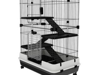 PawHut Metal Cage Indoor Small Animal Hutch  Retail 126 49