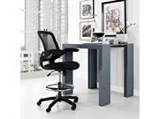 Modway Veer Drafting Chair  Black