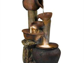 Pentole Pot Illuminated Water Fountain  Retail 213 99
