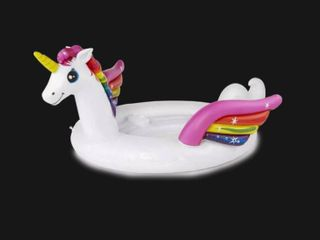 intex party unicorn adult inflatable pool toy