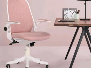 OVIOS Cute Desk Chair Fabric Office Chair for Home or Office Modern Comfortble Nice Task Chair for Computer Desk  Retail 189 99
