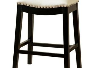 Copper Grove Bonded leather Stool