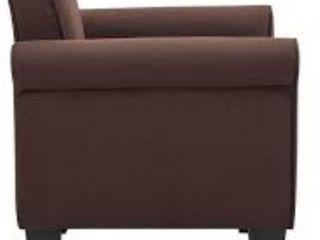 Porch   Den Royalann Microfiber Fabric Armchair