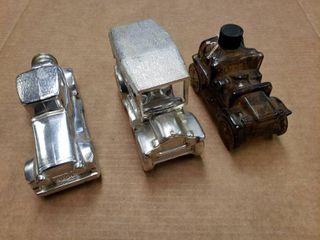 Vintage Auto Cologne Bottles