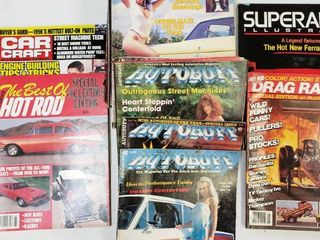 Vintage Hot Rod Magazines from The 80  and 90 s