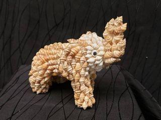 Elephant Made Of Sea Shell